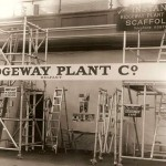 One of Ridgeway's first trade stands in Kings Hall Belfast