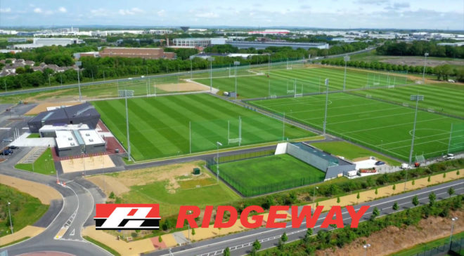 Ridgeway Supply Fencing Systems for National Sports Campus Blanchardstown