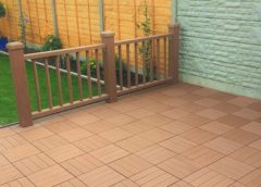 Dura Deck Tile Composite Decking